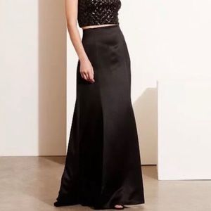 Ralph Lauren black satin mermaid evening skirt